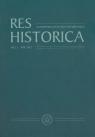 Res Historica Nr 33 Rok 2012