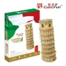 Puzzle 3D Krzywa Wieża w Pizie 30 (306-21053)
