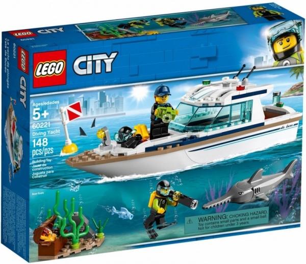 Lego City: Jacht (60221) (Uszkodzone opakowanie)