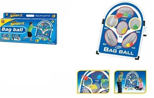 Bag ball Tarcza - kosz z piłkami