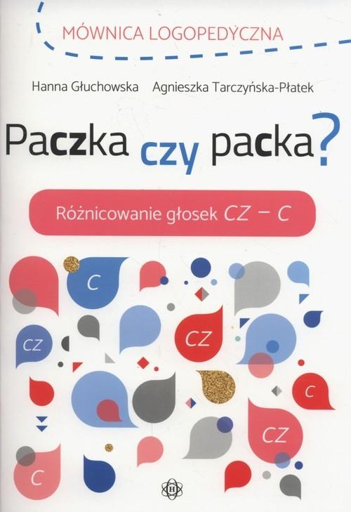 Mównica logopedyczna Paczka czy packa Głuchowska Hanna, Tarczyńska-Płatek Agnieszka
