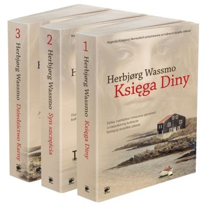 Trylogia Diny. Pakiet (3 tomy) Herbjorg Wassmo