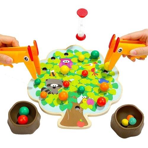 Top Bright Drewniana gra Montessori jabłuszka