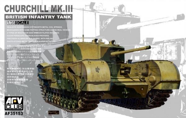AFV Churchill Mk3 (35153)