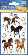 Naklejki świecące w ciemności - Konie (59253)