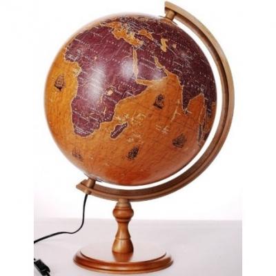 Globus żaglowce 320 mm, podświetlany
