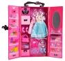 Garderoba z wyposażeniem - Różowa (113067)
