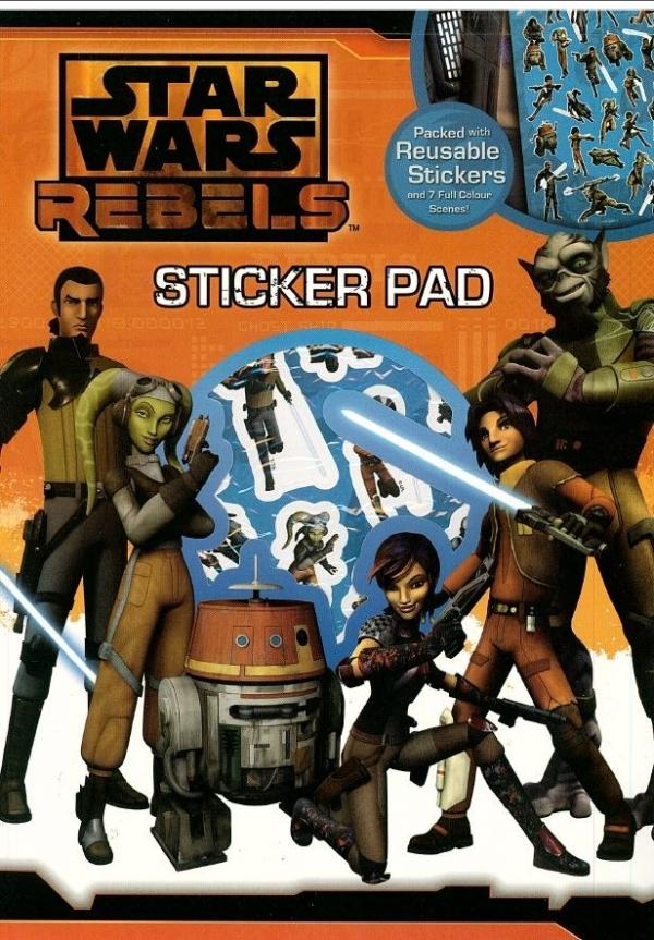 Zestaw naklejek i arkuszy do wyklejenia. Star Wars Rebels