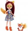 Enchantimals: lalka Felicity Fox+ zwierzątko