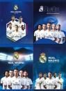 Zeszyt A5 w trzy linie 16 kartek Real Madrid 20 sztuk mix