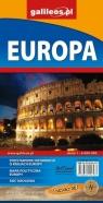 Europa - mapa administracyjno-drogowa 1:6 000 000