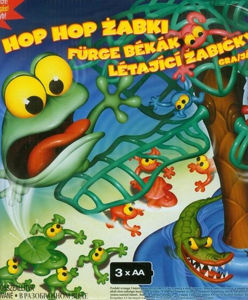 Skaczące żabki Gra