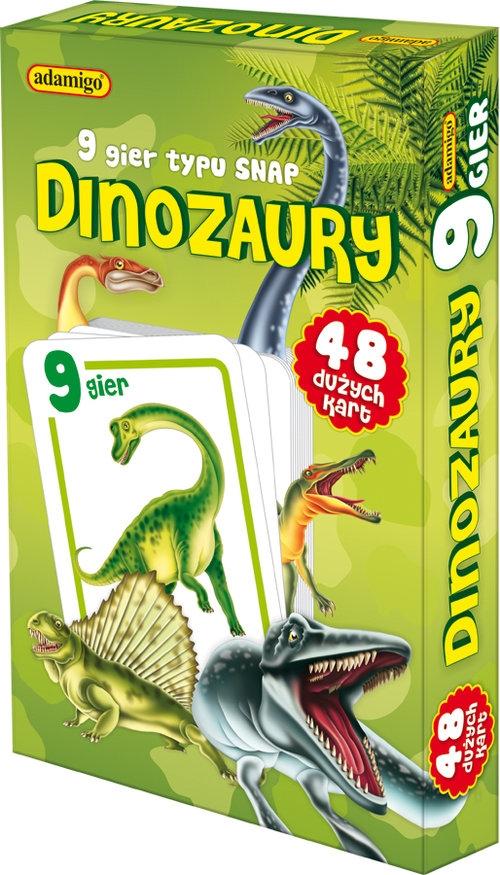 Dinozaury karty snap  (6533)