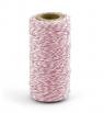 Sznurek piekarski różowy 50m