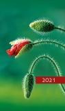 Kalendarz 2021 Tygodniowy Kolorowy mak