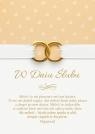 Kartka Ślub 3 - Miłość to nie pluszowy miś
