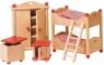 Sypialnia dziecięca do domu dla lalek (GOKI-51953)