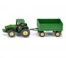 Siku Farmer - Traktor z przyczepą (S1953)