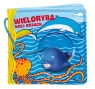 Książeczka kąpielow Wieloryba boli brzuch