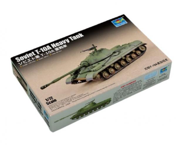 Model do sklejania Sowiecki ciężki czołg T-10A (07153)