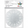 Serwetki papierowe okrągłe 11,5cm/35 szt. - srebrne (414551)