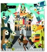 Puzzle Fantastyczny zamek 54 elementy