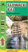 Mapa turystyczna - Słowaki raj praca zbiorowa