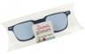 Okulary - karteczki samoprzylepne niebieskie