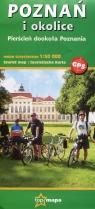 Poznań i okolice mapa turystyczna 1:50 000