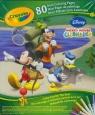 Crayola Mini Kolorowanka Klub Przyjaciół Myszki Miki Zestaw podróżny