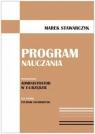 Program nauczania Specjalizacja: administrator w e-urzędzie Stawarczyk Marek