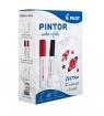 Zestaw Pintor + T-shirt czarny i czerwony PILOT