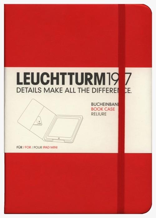 Etui iPad mini Leuchtturm1917 czerwone