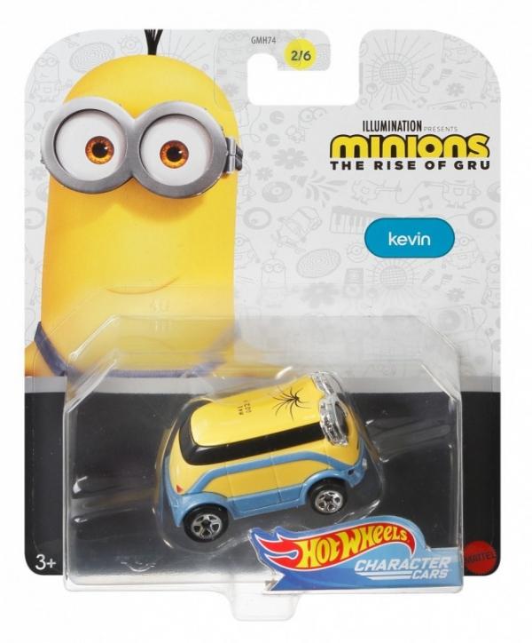 Samochodziki Minionki Kevin (GMH74/GMH80)