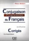 Conjugaison progressive du francais Niveau debutant klucz