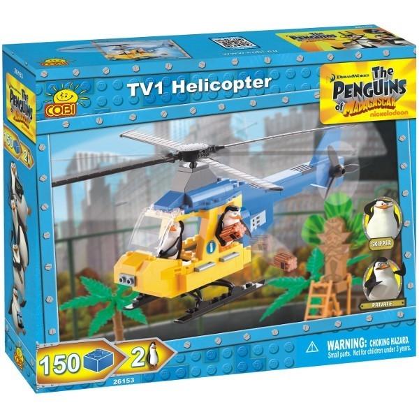 COBI Pingwiny Helikopter TV1