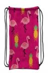 Worek szkolny plecak WR 132 flamingi różowe (WR 132)