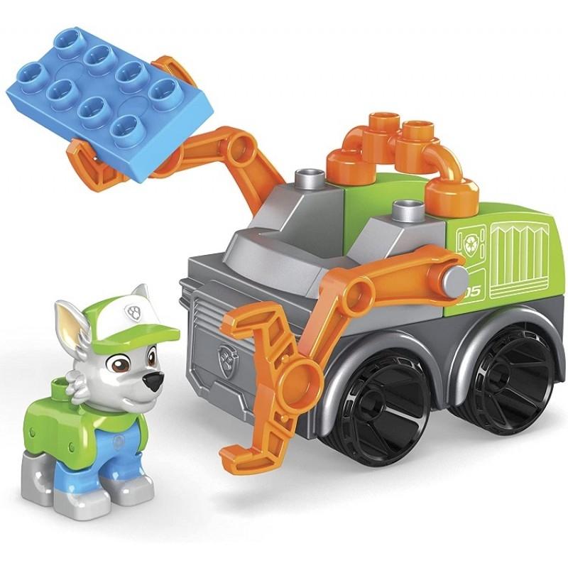 Mega Bloks: Psi Patrol - Śmieciarka Rocky'ego (GYH93)