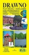 Drawno. Plan miasta z Mapą Gminy i Drawieńskiego Parku Narodowego