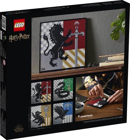 Lego Art: Harry Potter™ Hogwarts™ Crests (31201)