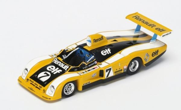Renault-Alpine A 442 #7 P. Tambay/J-P. Jaussaud Le Mans 1977