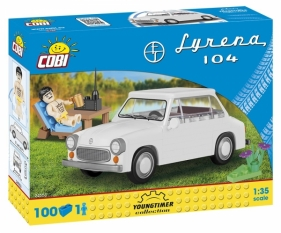 Syrena 104 + figurka (24553)
