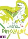 Kolorowanki na każdą pogodę Dinozaury