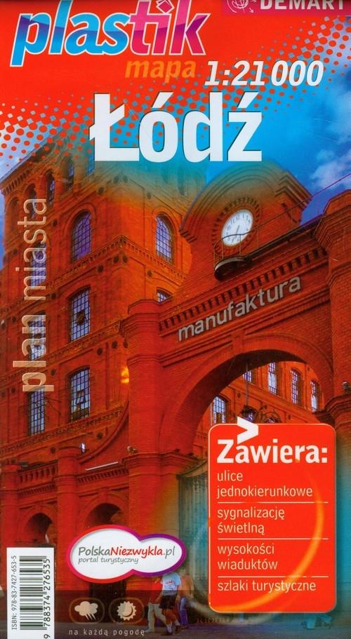 Łódź plan miasta 1:21 000