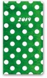 Kalendarz 2018 11T-Soft A6 kieszonkowy groszki