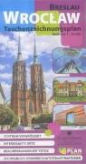 Plan kieszonkowy rys.-Wrocław w.niemiecka 1:16 500