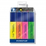 Zakreślacze Staedtler Textsurfer Classic, 4 kolory (S 364-S WP4P)