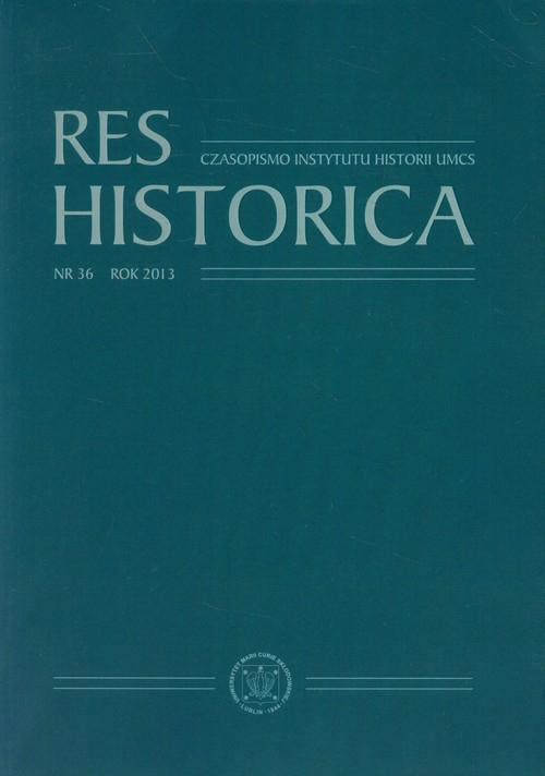 Res Historica nr 36 2013