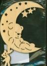 Zawieszka księżyc nr.1 Boże Narodzenie
