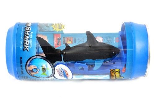 Rekin Ryba RC w puszce czarny (KX9724_3)